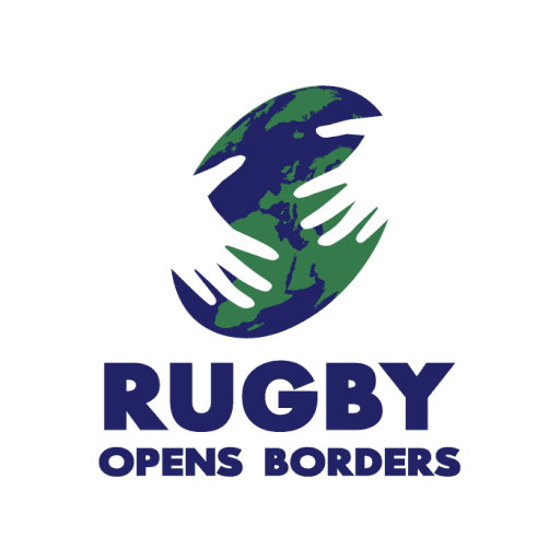 Rugby Opens Borders Logo